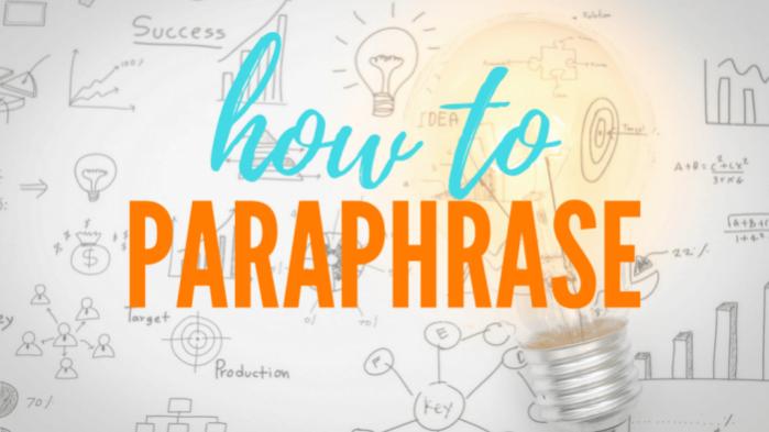 paraphrasing-services